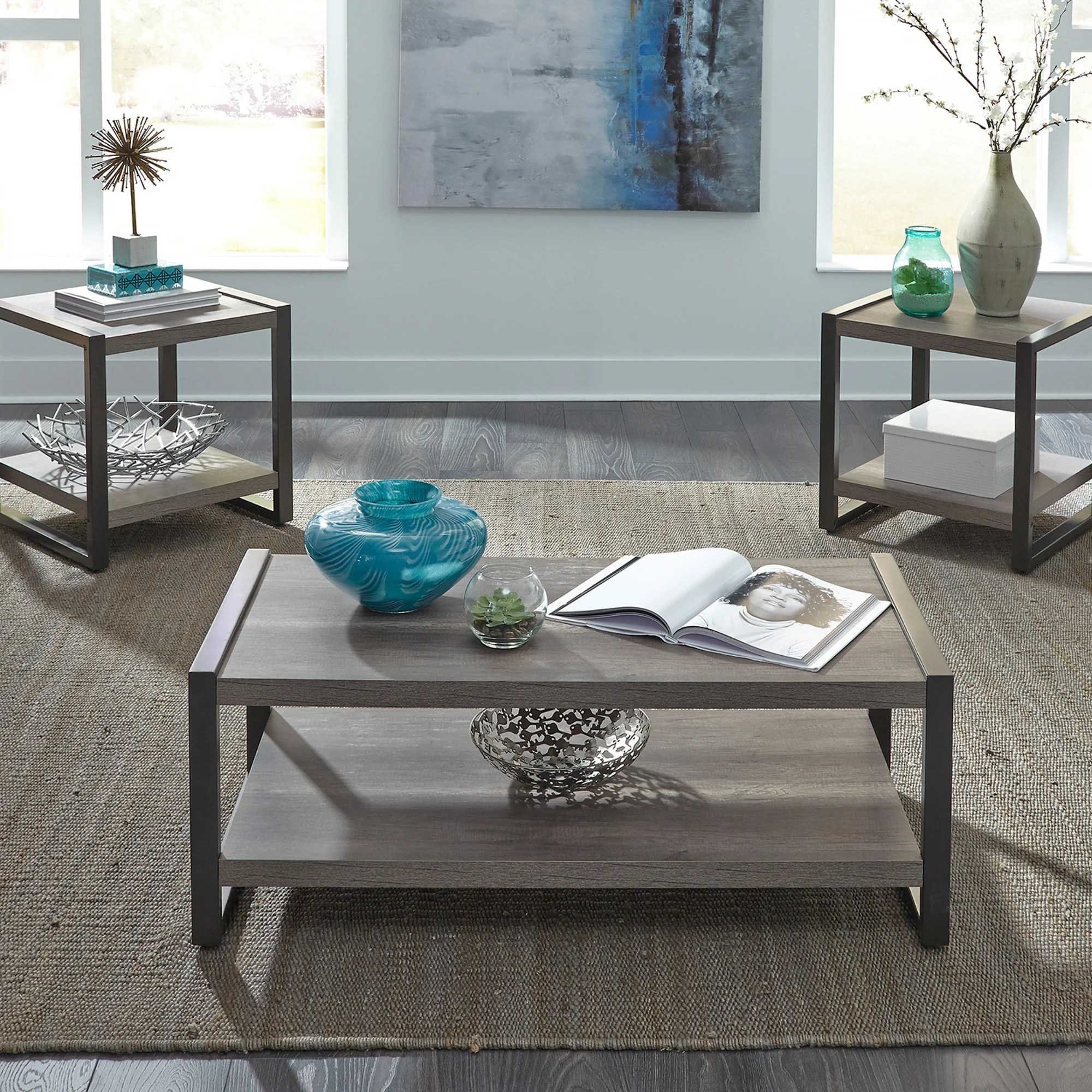 black coffee table sets you ll love in