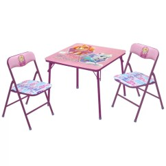 3 Piece Table And Chair Set Counter Height Chairs With Arms Idea Nuova Nickelodeon Paw Patrol Skye Everest Kid S Reviews Wayfair