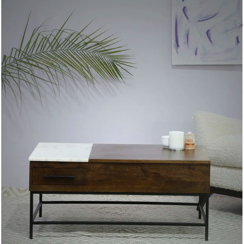 sease lift top coffee table with storage