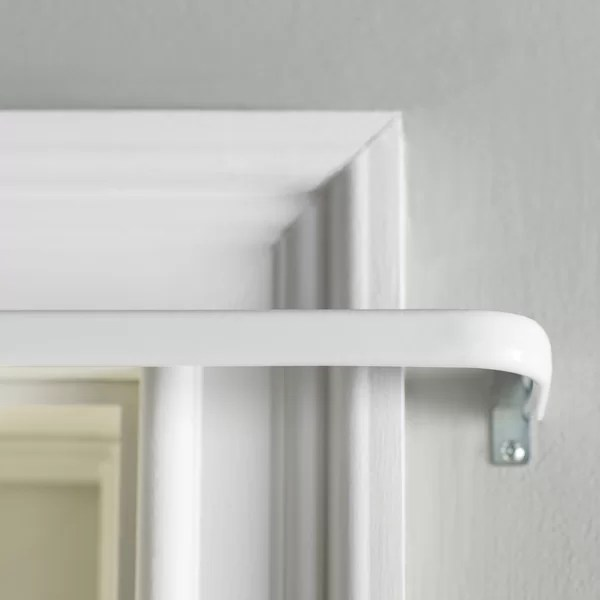 black out curtain rods