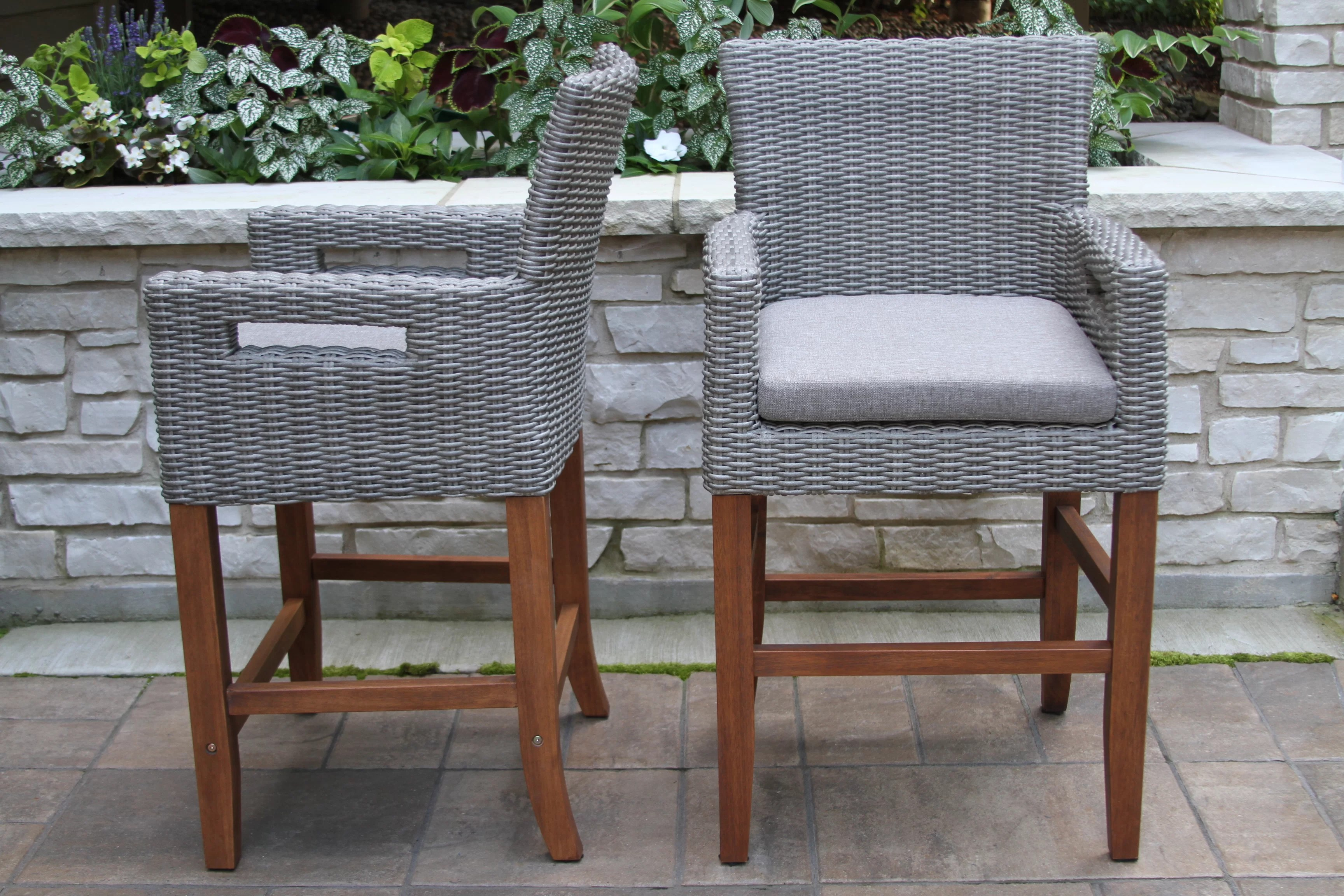 christiana 26 patio bar stool with