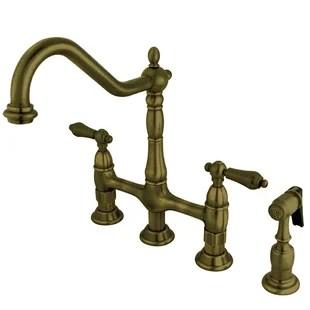 https www birchlane com kitchen dining sb1 antique brass kitchen faucets c1870980 a5028 452629 html