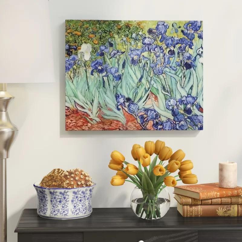 Red Barrel Studio 'Irises' by Vincent Van Gogh Oil ...