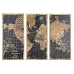 Framed Prints For Kitchens Kitchen Buffet Ikea 3 Piece Art You Ll Love Wayfair Stanford World Map Graphic Set