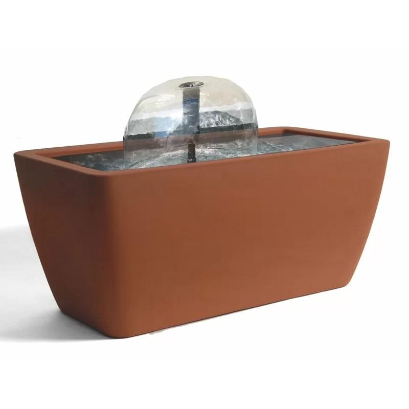 Manhattan Acrylic Pond Kit with Light Color: Terracotta