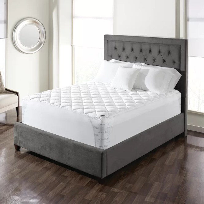 Twin Memory Foam Mattress Pad
