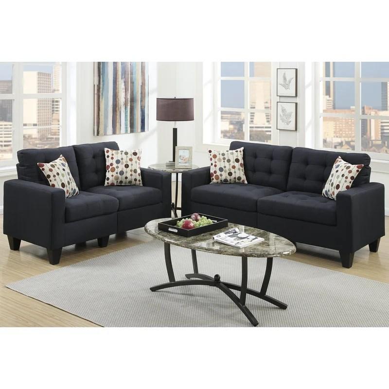 2 piece living room set very cheap sets zipcode design amia reviews wayfair