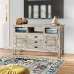 Bonnie Solid Wood Tv Stand For Tvs Up To 55 Reviews