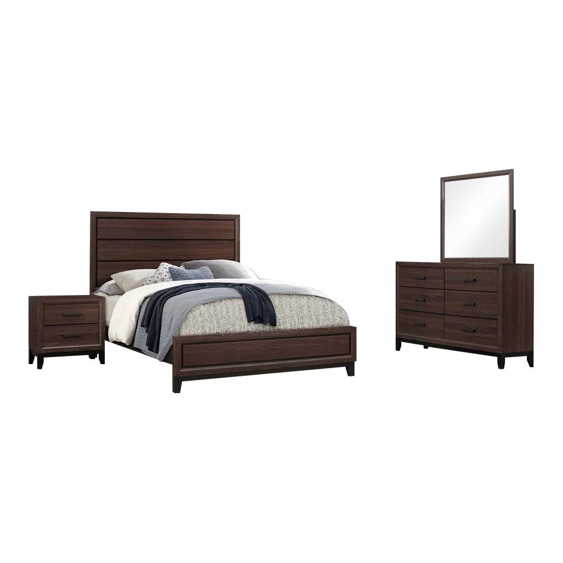 wallis standard configurable bedroom set