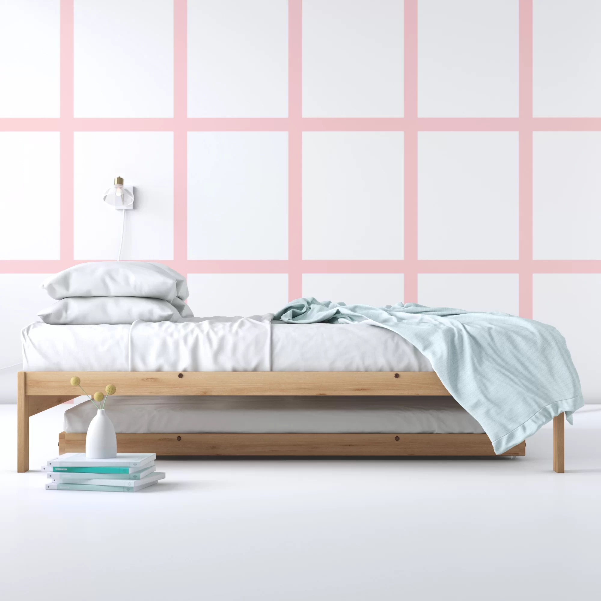 Hashtag Home Warner Solid Wood Platform Bed Reviews Wayfair