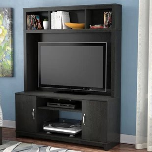 living room media furniture tailored valances for entertainment centres you ll love wayfair ca shellcove centre tvs up to 42