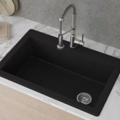 Sinks Kitchen Showrooms Massachusetts Single Basin You Ll Love Wayfair Ca Save