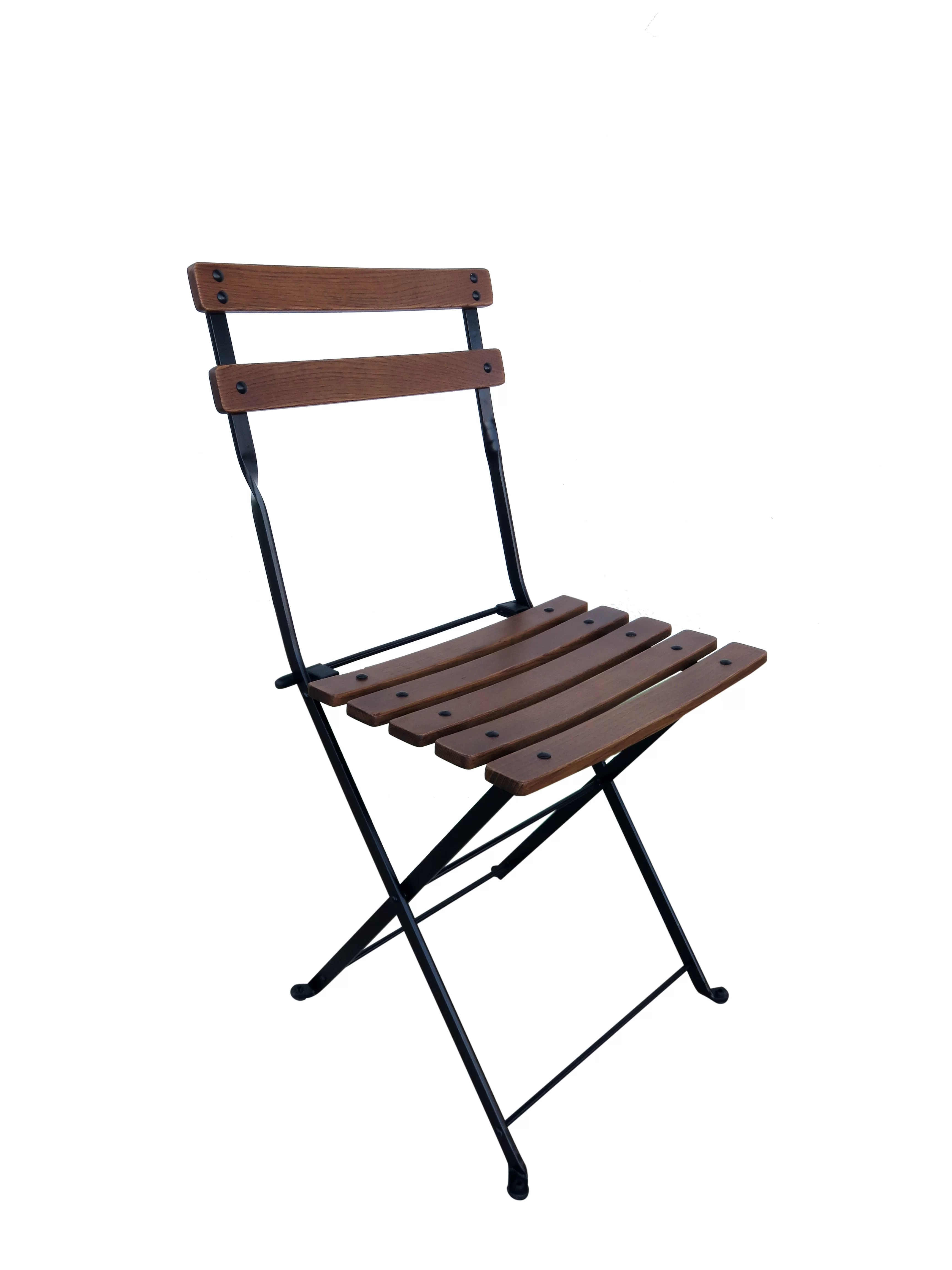Foldable Dining Chairs French Café Bistro Folding Patio Dining Chair