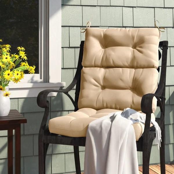 patio high back chair cushions