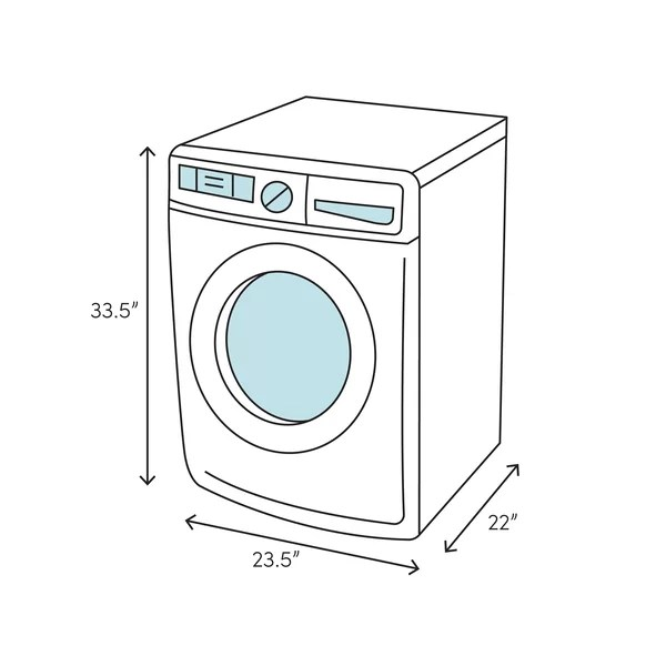 Equator 1.6 Cu. ft. Front Load Washer and 1.6 Cu. ft