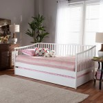 Charlton Home Hanchett Twin Daybed With Trundle Wayfair