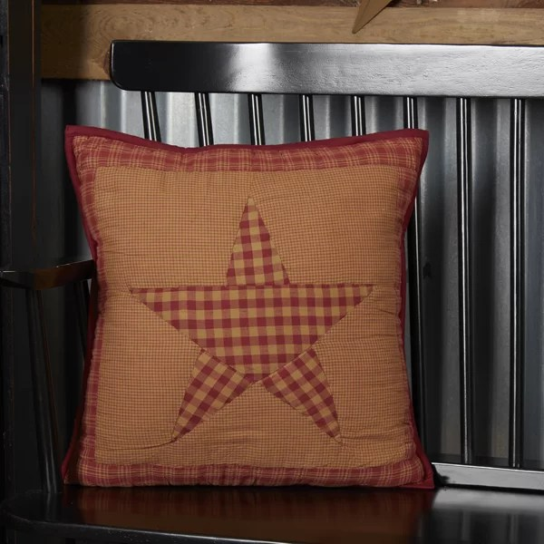 primitive country star pillows