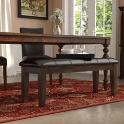 Bench For Kitchen Table Ceramic Tile Dining Benches You Ll Love Wayfair Bartons Bluff Wood