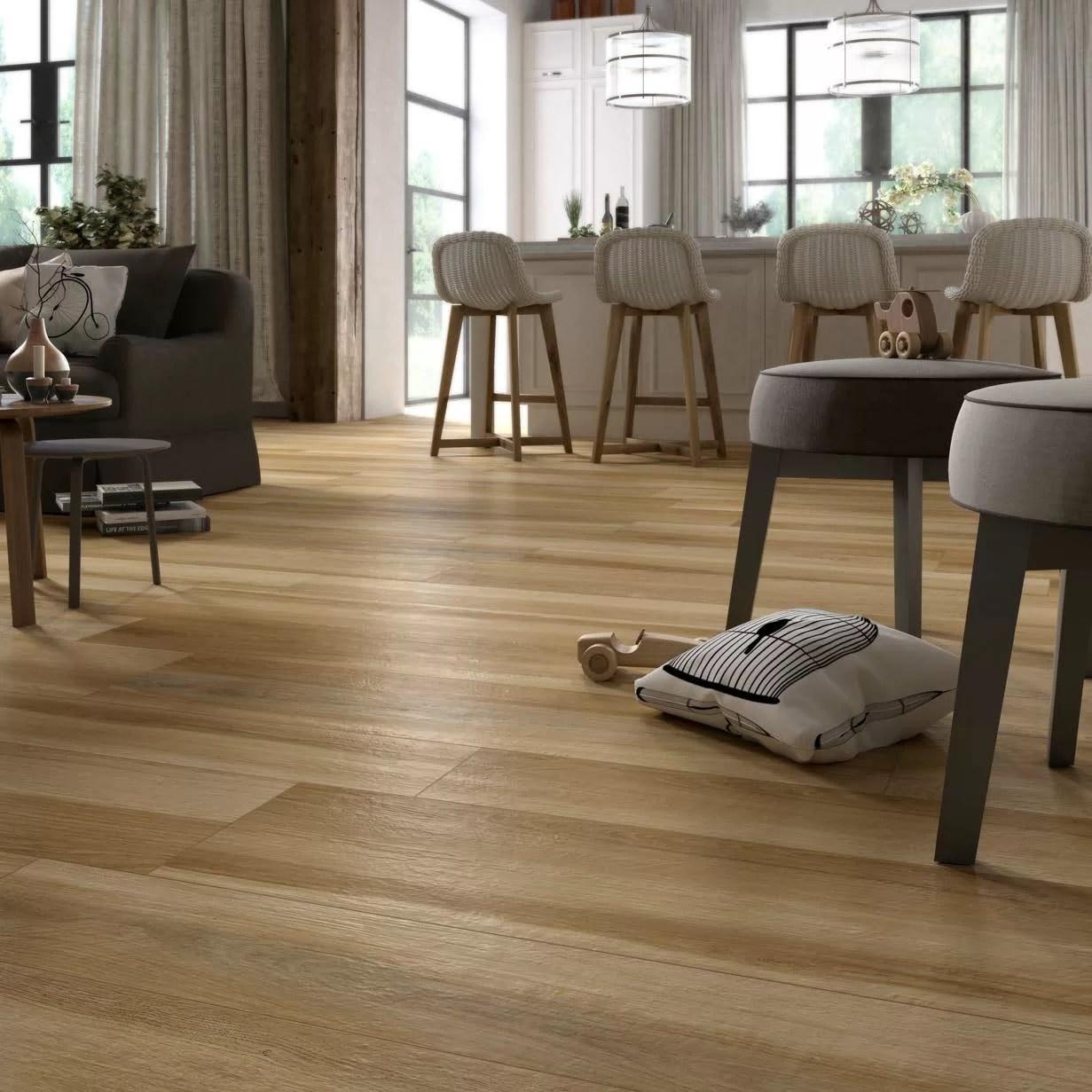 trevi 8 x 48 porcelain wood look tile