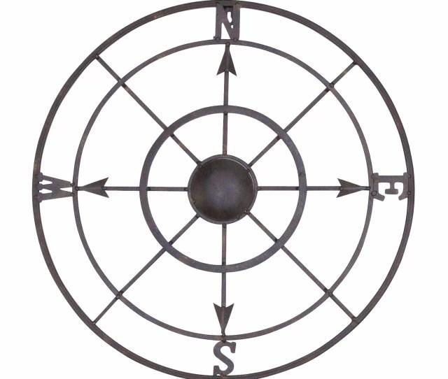 Breakwater Bay Nautical Metal Compass Rose Wall Decor Reviews
