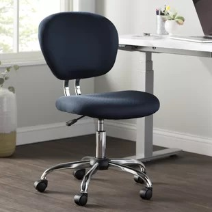revolving chair without wheels rocking kids armless office chairs you ll love wayfair quickview