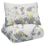 Red Barrel Studio Headington Floral Comforter Set Wayfair
