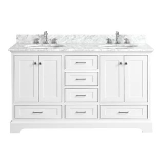 60 inch bathroom vanities you'll love | wayfair