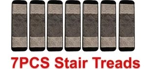 Washable Stair Mat Rug Size 8X30 Set Of 7 Gloria Rug High Pile   Gloria Rug Stair Treads   Rubber Backing   8.5 X26   Decor Rugs   Overstock   Area Rug