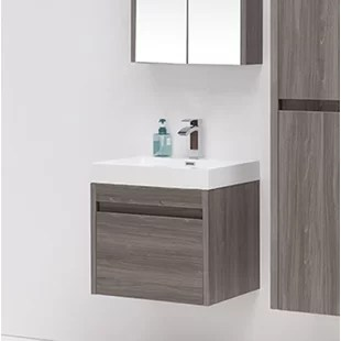 24 inch bathroom vanities you'll love | wayfair.ca