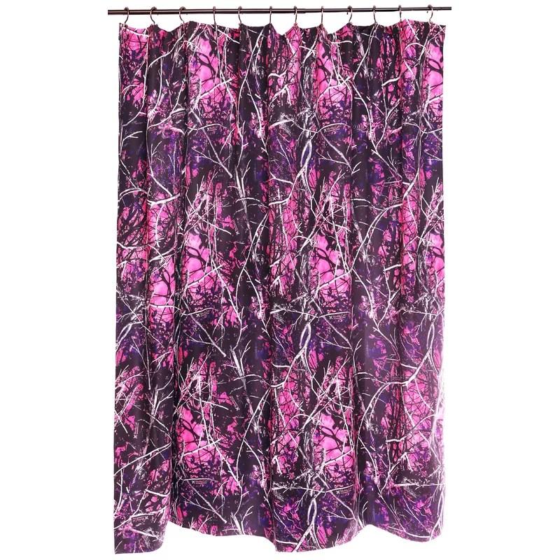 Muddy Girl Single Shower Curtain