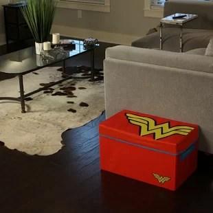 living room toy box beige sofa storage for wayfair wonder woman