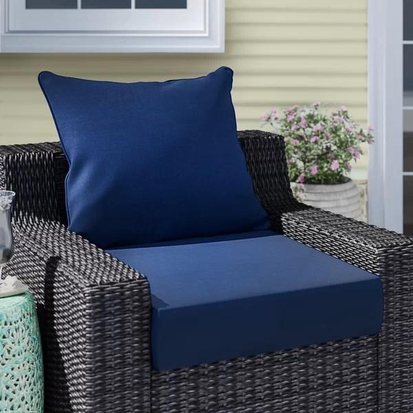 extra deep patio cushions