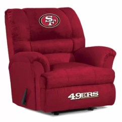 49ers Camping Chair Kneeling Ikea Nfl San Francisco Furniture You Ll Love Wayfair Quickview