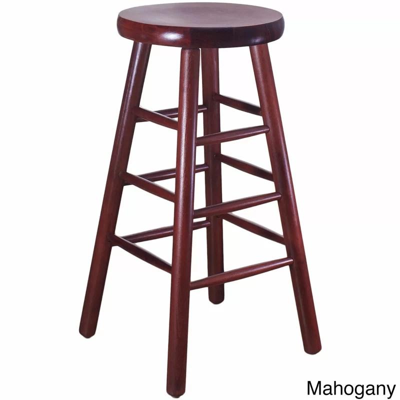 30 Bar Stool Finish: Mahogany
