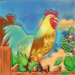 Rooster Kitchen Decor How To Remodel Your Chicken Wayfair 3 Tile Wall