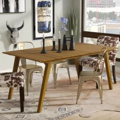 Rustic Wood Kitchen Table And Chairs Acapulco Chair Set Uk Narrow Dining Wayfair Lindo