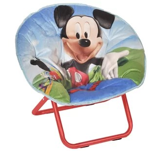 saucer chair for kids folding big w wayfair toddler mini