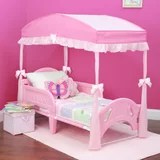 girls canopy bedroom set wayfair
