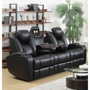 grey power reclining sofa slipcover ikea sofas you ll love wayfair ca laurinda