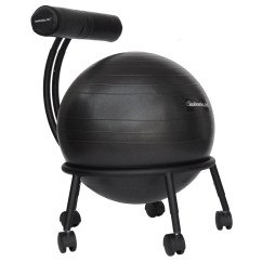 Yoga Ball Chair Reviews Teak Lounge With Wheels Symple Stuff High Back Exercise And