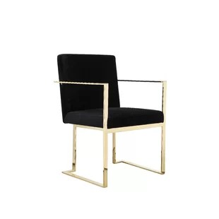gold dining chairs ikea hanging kitchen you ll love wayfair quickview