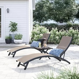 lounge chair patio comfortable outdoor chairs you ll love wayfair quickview