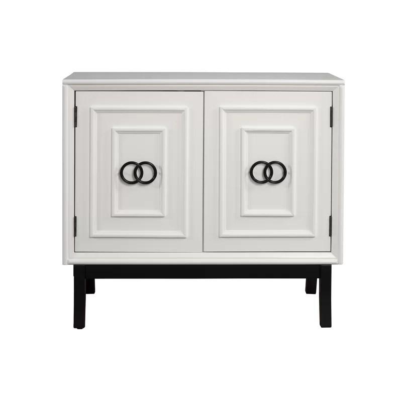 cramer 2 door accent cabinet