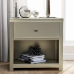 Everly Quinn Modern 1 Drawer Solid Wood Nightstand Sofa End Table In Rich Brown Nightstand Of Freely Configurable Bedroom Sets Wayfair Ca