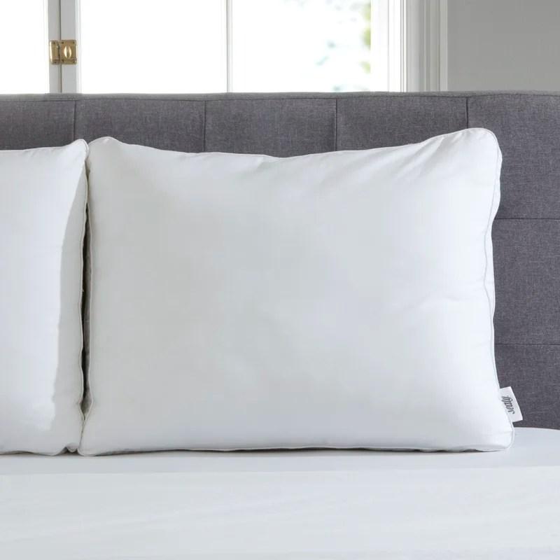 sealy down alternative memory foam pillow