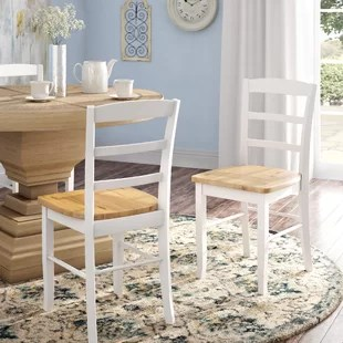 wood kitchen chairs design your own island colored wooden wayfair quickview