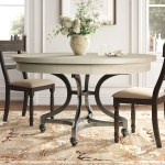54 Inches Round Dining Tables You Ll Love In 2020 Wayfair