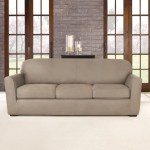 Sure Fit Ultimate Heavyweight Stretch Leather 4 Piece Box Cushion Sofa Slipcover Set Reviews Wayfair