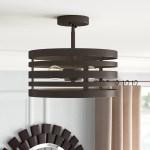 Boyle Farmhouse Ceiling 2 Light Semi Flush Mount Reviews Joss Main