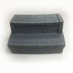 deluxe storage step in cobblestone